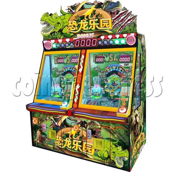 Carnival Circus Coin Pusher Ticket machine - dinosaur paradise