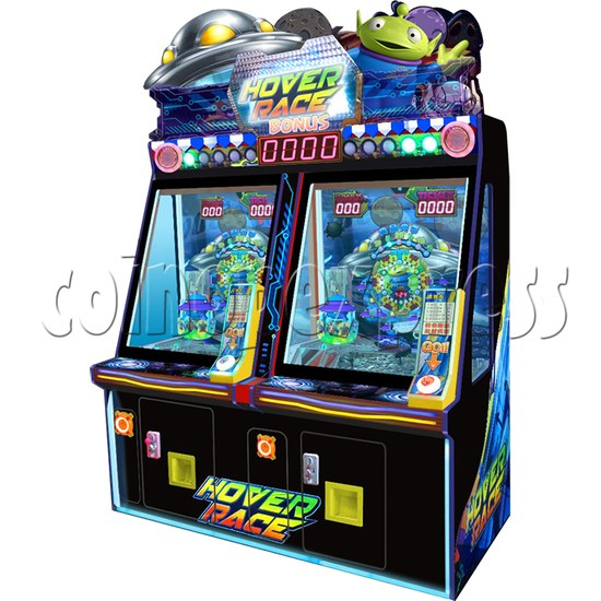 Carnival Circus Coin Pusher Ticket machine - high speed flying saucer theme