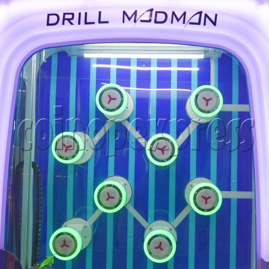 Drill Master Ticket Redemption Machine - prize hole