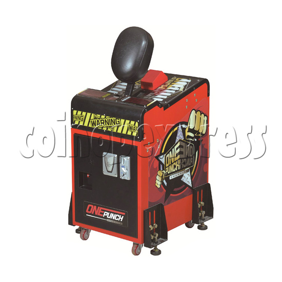 Little Boxing Punch Machine - right view