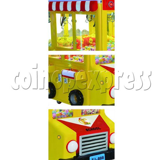 School Bus Crane Machine 6 players - detail