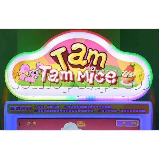 Tam Tam Mice Ticket Redemption Machine - header