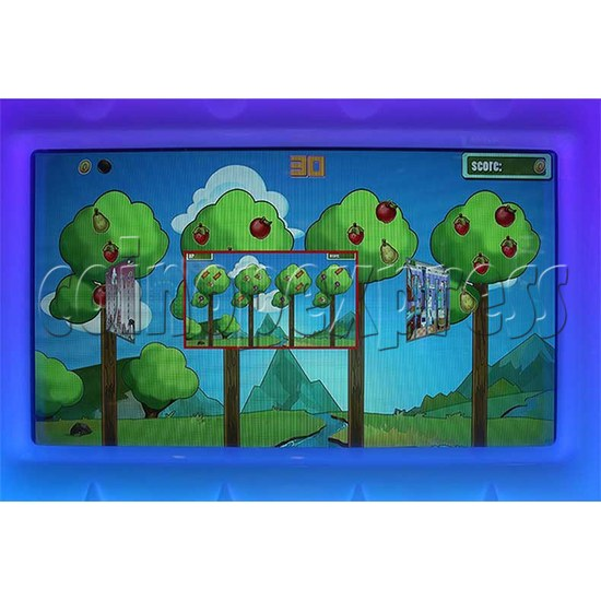 Tam Tam Mice Ticket Redemption Machine - screen display 1
