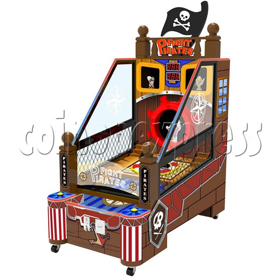 Fight Pirates Ticket Redemption Machine - right view