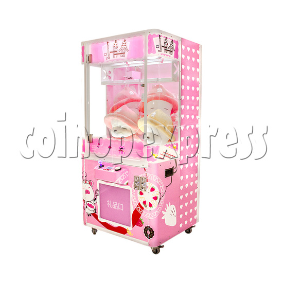 Pink Cutting Prize Machine - right view