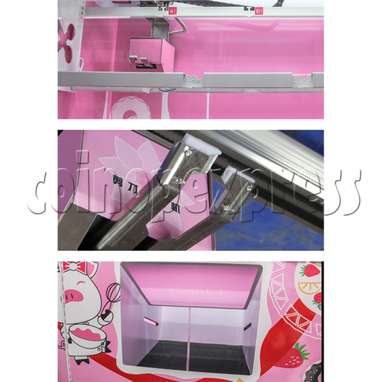 Pink Cutting Prize Machine - details
