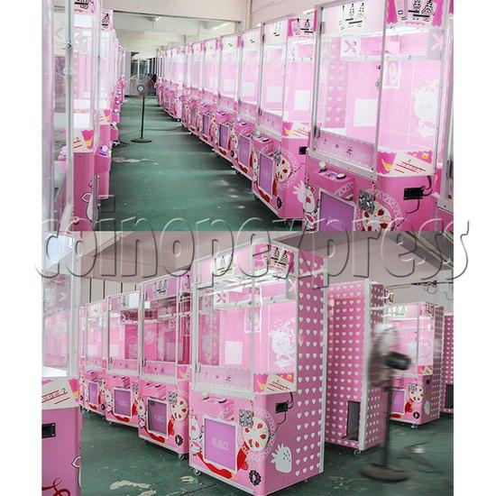 Pink Cutting Prize Machine - power view
