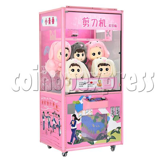 Campus style Cut ur Prize Machine - pink color left view