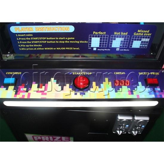 Star Trek Pile Up Prize Machine - control panel