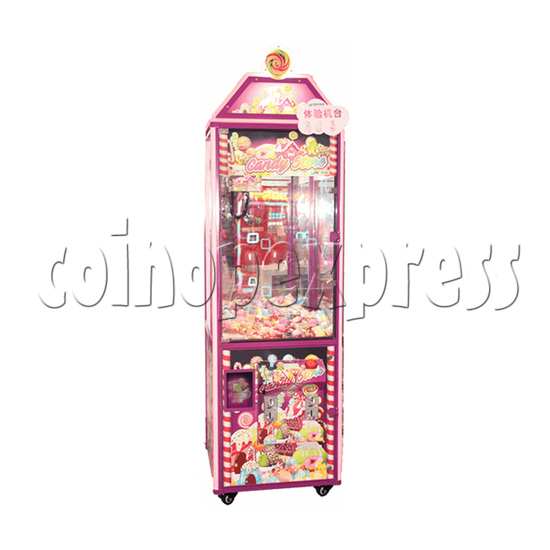 Candy Store Crane Machine - front view