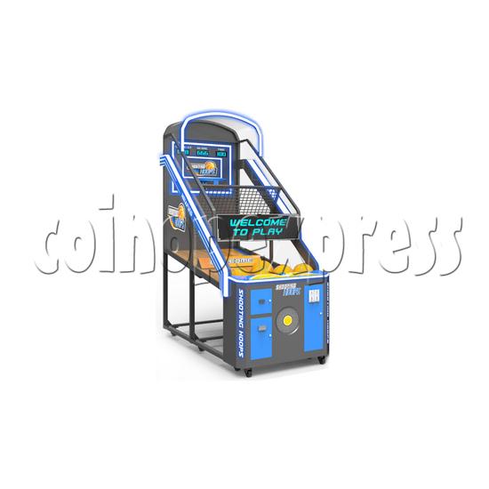 Shooting Hoops 7 Basketball Machine - single machine