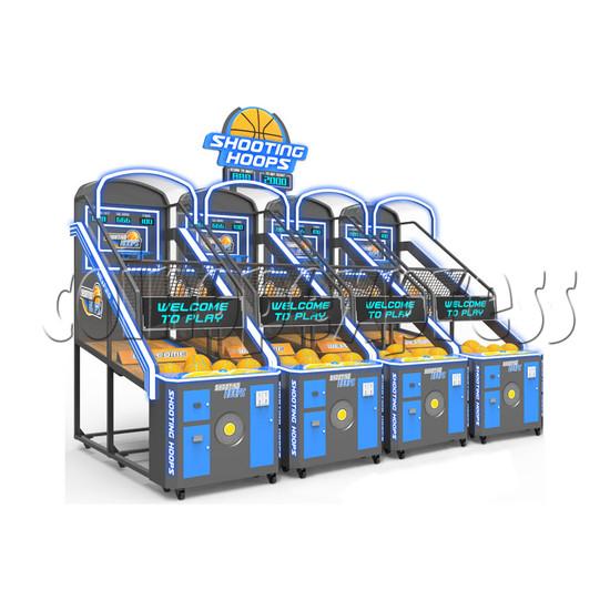 Shooting Hoops 7 Basketball Machine - one set