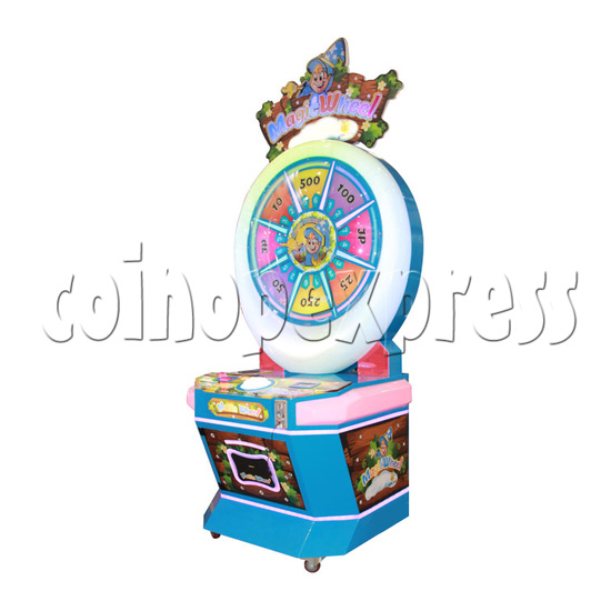 Magic Wheel Ticket Redemption Machine - right view
