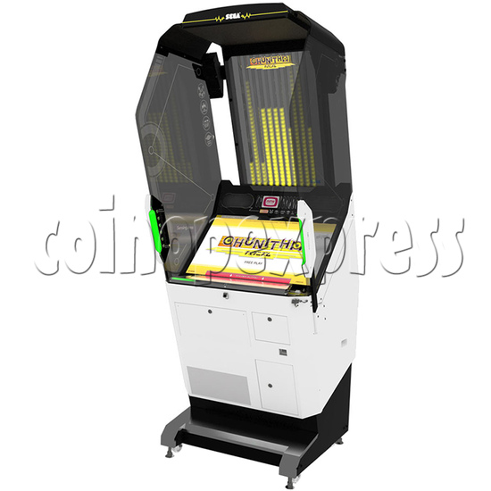 Chunithm Music Arcade Machine - right view