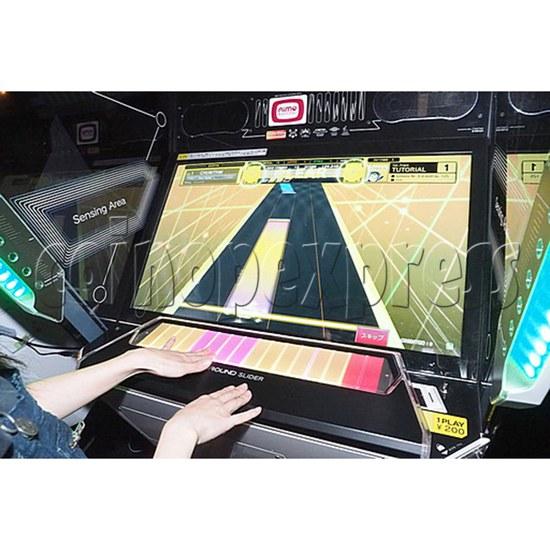 Chunithm Music Arcade Machine - play view