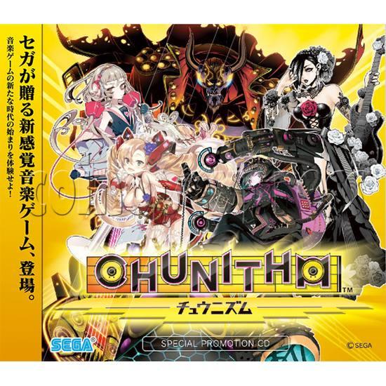 Chunithm Music Arcade Machine - catalogue
