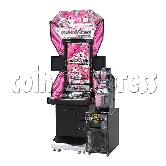 Sound Voltex 5 Vivid Wave Arcade Machine - right view