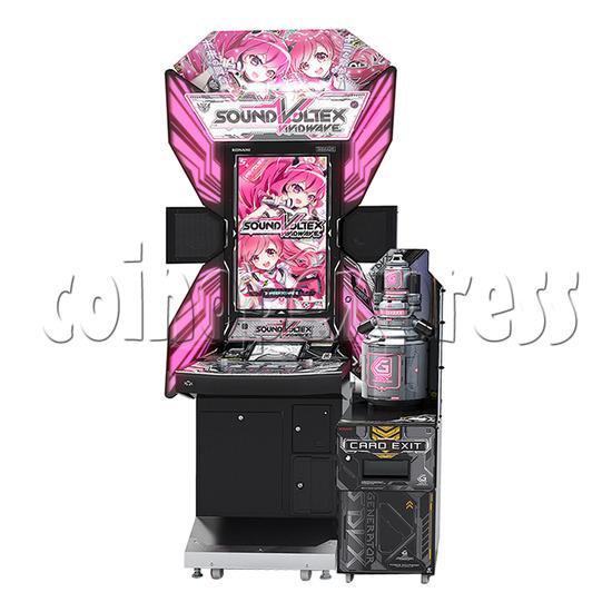 Sound Voltex 5 Vivid Wave Arcade Machine - front view