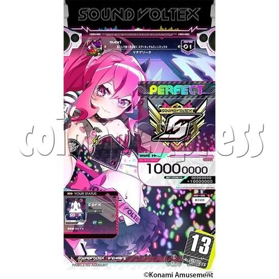 Sound Voltex 5 Vivid Wave Arcade Machine - screen display 1