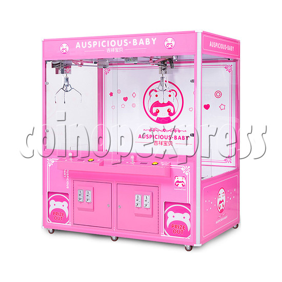 Auspicious Baby Doll Crane Machine - right view