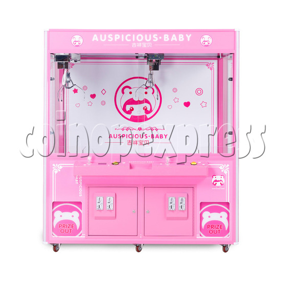 Auspicious Baby Doll Crane Machine - front view