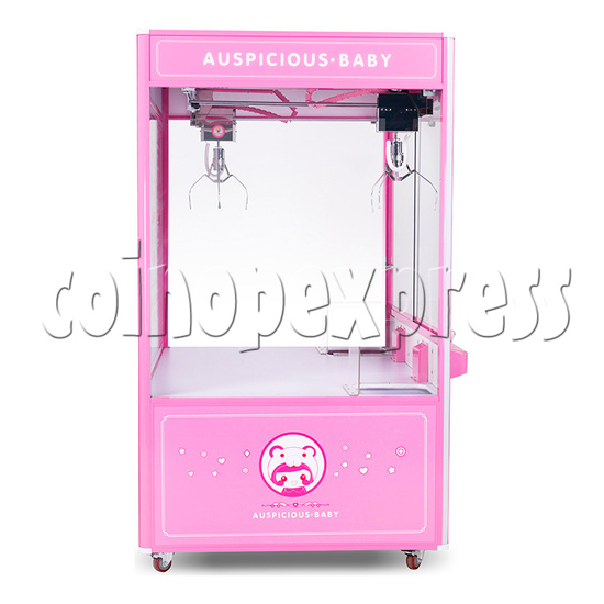 Auspicious Baby Doll Crane Machine - side view