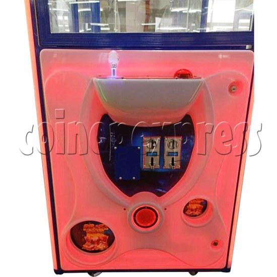 31 inch Double Claw Treasure Box Crane Machine - control panel