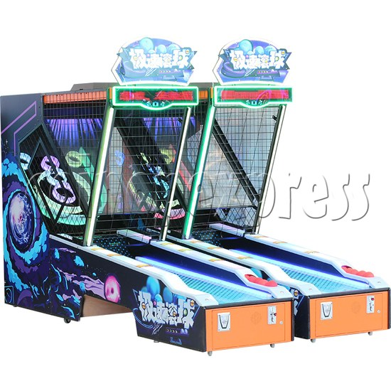 Roller Ball Ticket Redemption Machine - two machines left view