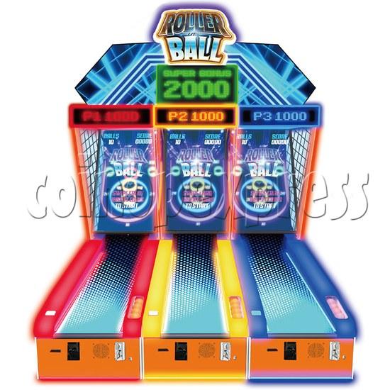 Roller Ball Ticket Redemption Machine - one set