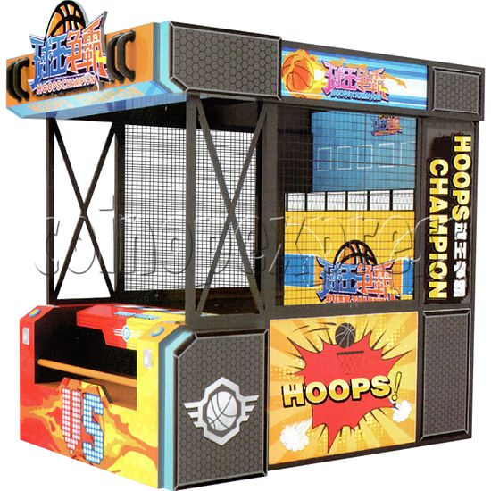 Hoops Champion Arcade Basketball Machine - right view