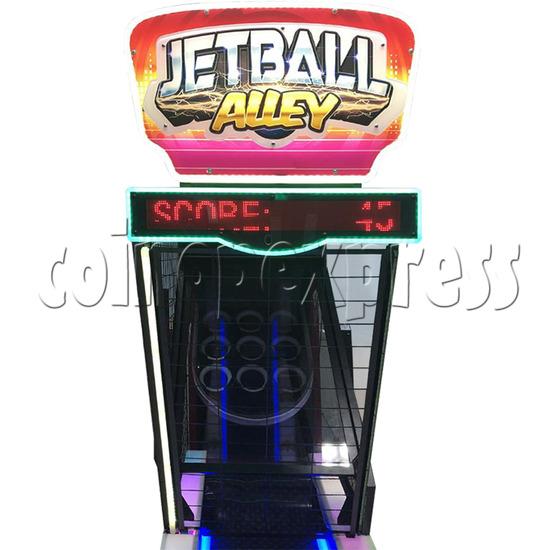 Jet Ball Alley Ticket Redemption Machine - playfield