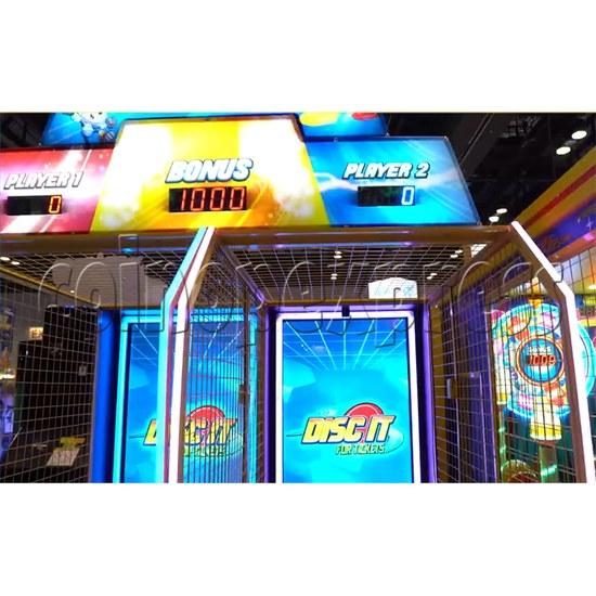 Disc It Ticket Redemption Machine - LED display