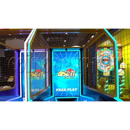 Disc It Ticket Redemption Machine - screen display