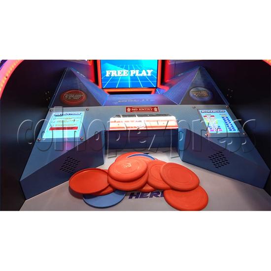 Disc It Ticket Redemption Machine - playfield