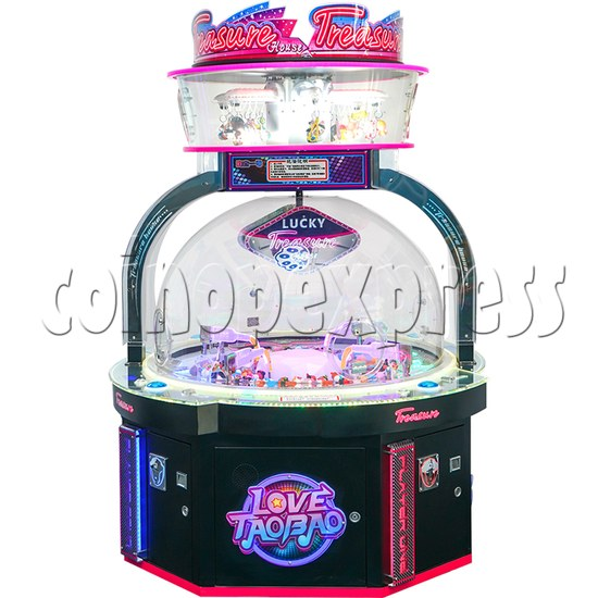 Treasure House Ticket Redemption Arcade Machine - front view