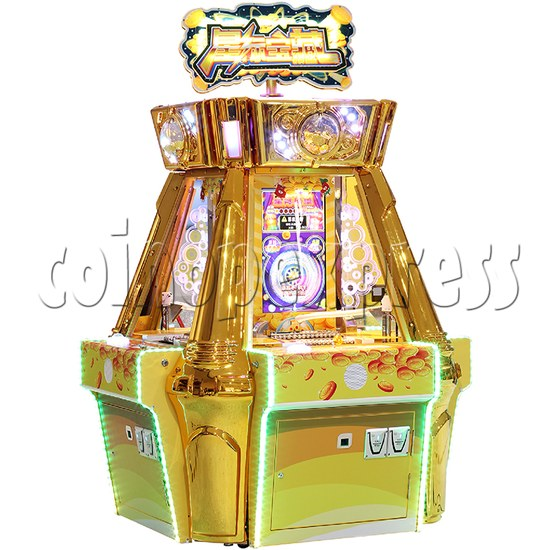 Treasure Star Ticket Redemption Arcade Machine - angle view