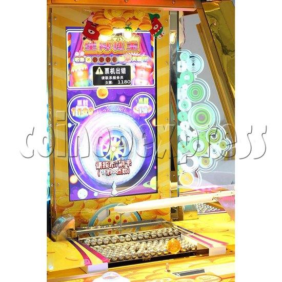 Treasure Star Ticket Redemption Arcade Machine - playfield