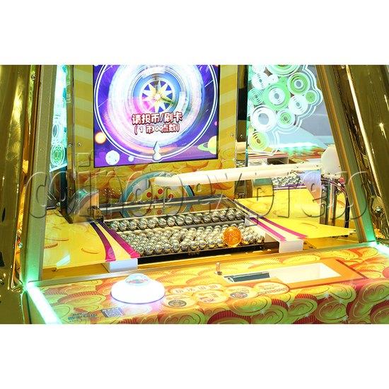 Treasure Star Ticket Redemption Arcade Machine - reward region