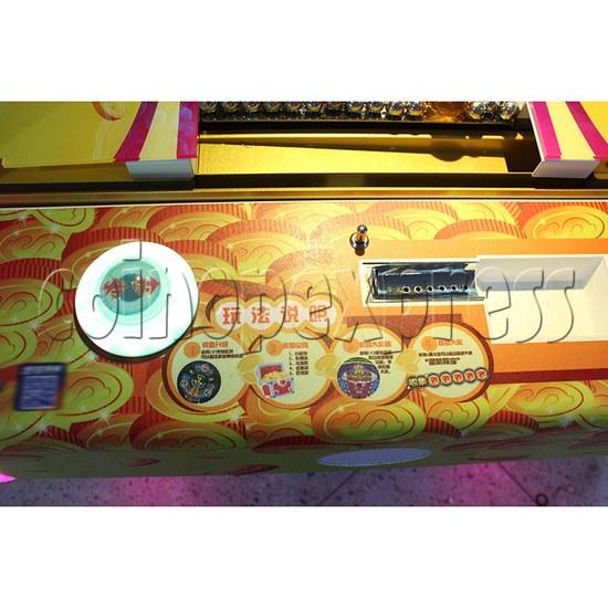 Treasure Star Ticket Redemption Arcade Machine - control panel