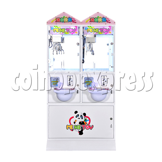 Mini Toy Crane Machine - front view