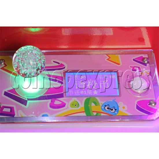Mini Toy Crane Machine - control panel