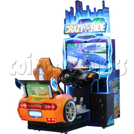 Crazy Ride Driving Machine - right view