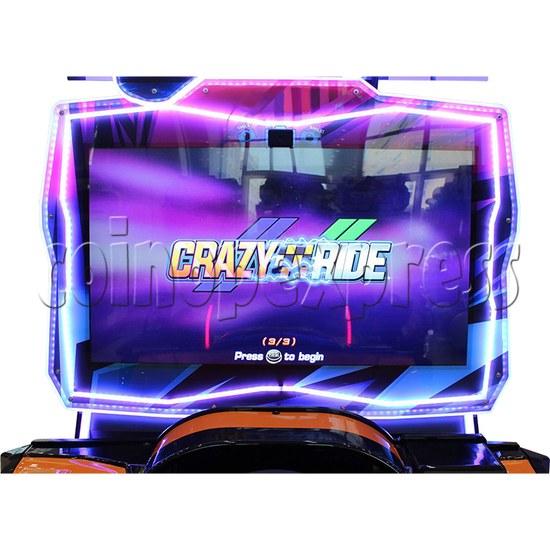 Crazy Ride Driving Machine - screen display 1