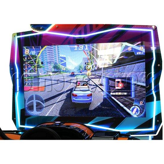 Crazy Ride Driving Machine - screen display 2