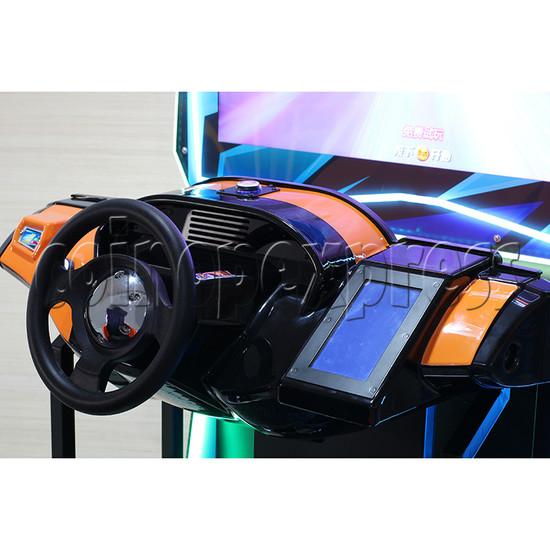 Crazy Ride Driving Machine - steering wheel