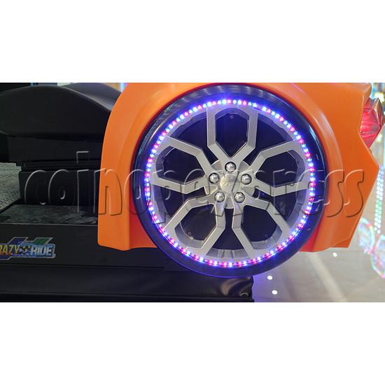 Crazy Ride Driving Machine - wheel