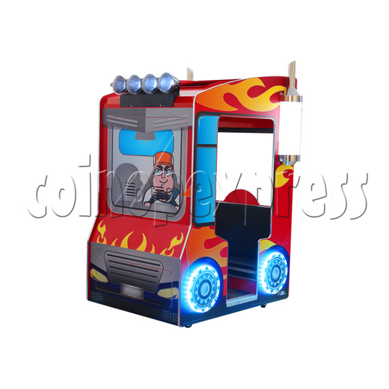 Educational Cargo Transport Game Kids Machine - right view