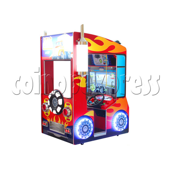 Educational Cargo Transport Game Kids Machine - back view
