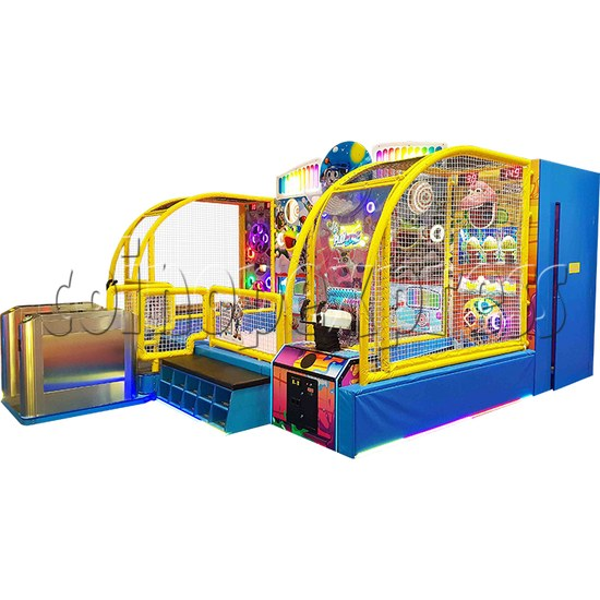 Play Zone Ball Pool Machine - right view
