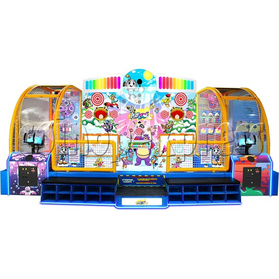 Play Zone Ball Pool Machine - front view